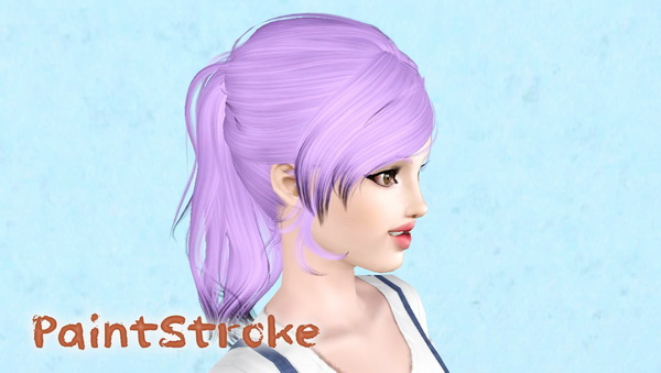 NewSea`s LuckyStar hairstyle retextured by Katty for Sims 3