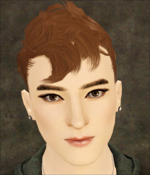 Cool hairstyle Wavy Hawk by Jasumi for Sims 3