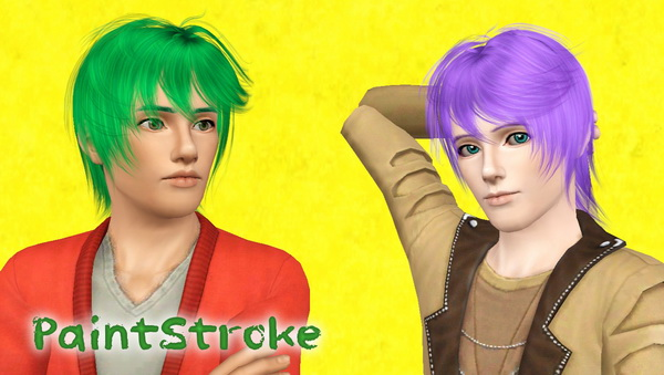 Cazy`s Hold hairstyle retextured by Katty for Sims 3