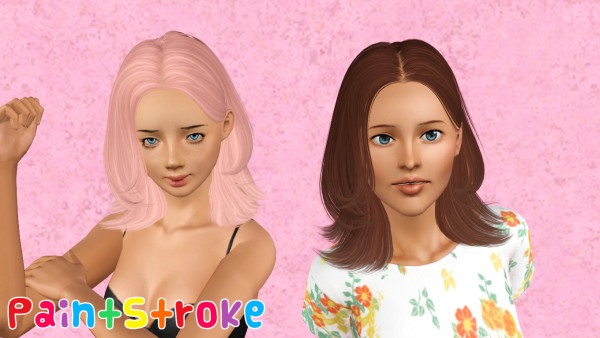 Collegian hairstyle Skysims 120 retextured by Katty for Sims 3