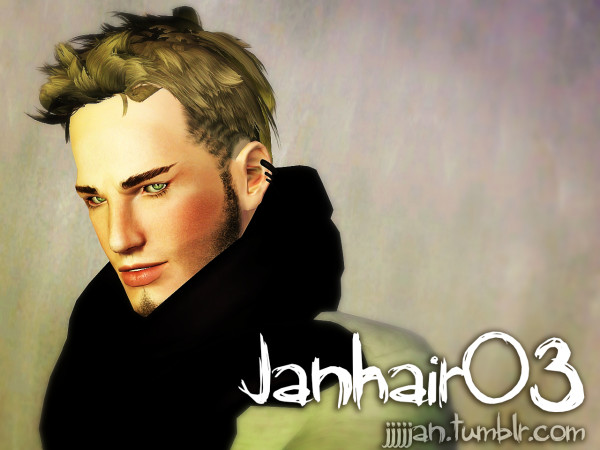 Ultimate hairstyle 03 by Jan for Sims 3