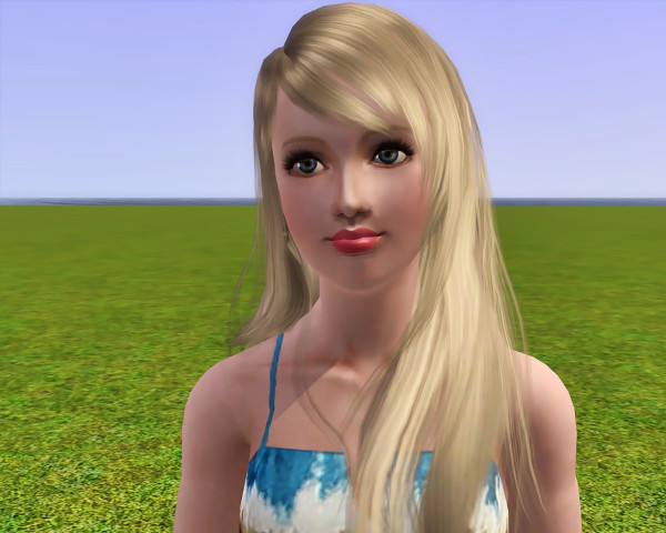 Peggy 0111 hairstyle retextured by Savio for Sims 3