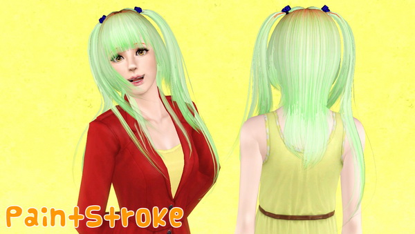 Rose hairstyle 07 retextured by Katty for Sims 3