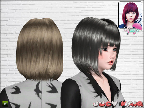 hair styles 2014 yume jucy hairstyle by zauma sims 3 hairs 3613