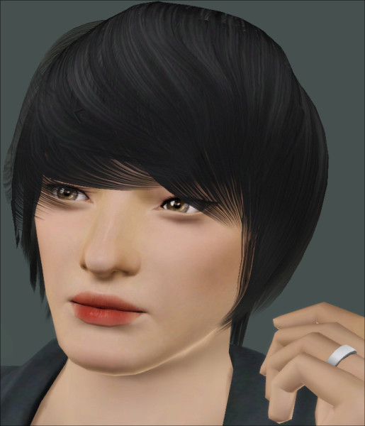 Raon`s 009 hairstyle retextured by Jasumi for Sims 3