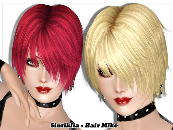 Mike hairstyle by Sintiklia for Sims 3