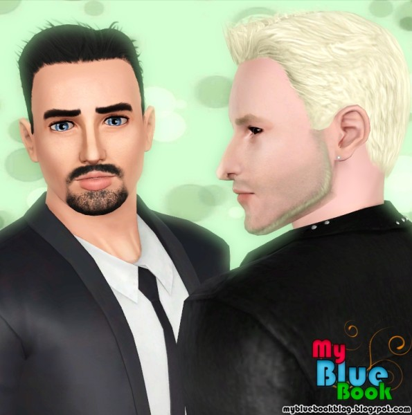 Thrown back hairstyle retextured by TumTum Simiolino for Sims 3