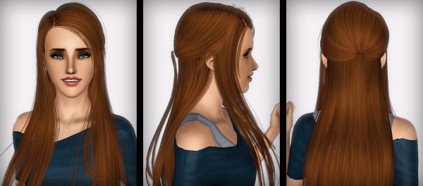 Sweet hairstyle Skysims 07 retextured by Forever and Always for Sims 3