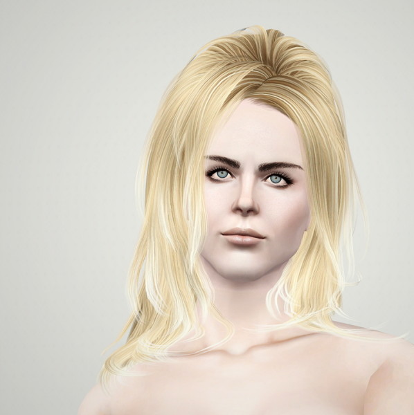 NewSea`s Sunshine hairstyle retextured by Rusty Nail for Sims 3