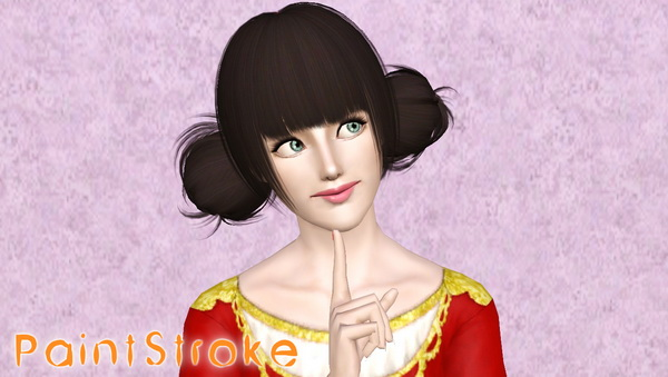 Queen Of Hearts Hairstyles: Glamour Hairstyle Peggy`s 0078 Retextured By Katty
