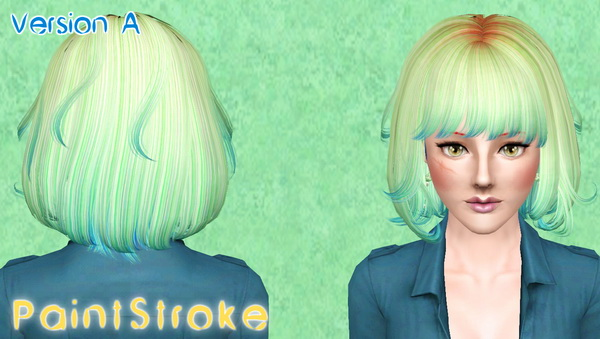 Newsea`s The Moment hairstyle retextured by Katty  for Sims 3