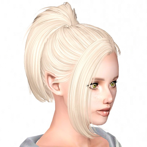 Butterfly`s 60 hairstyle retextured by Sjoko for Sims 3