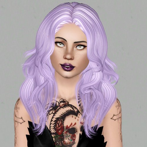 Newsea`s Sexy Bomb hairstyle retextured by Sjoko for Sims 3