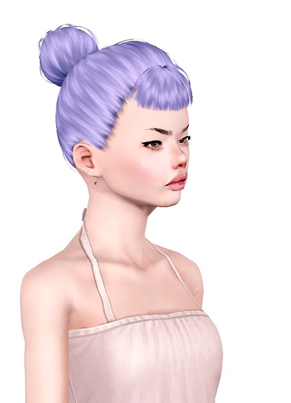 Momo Nightcrawler 06 and Newsea Mashup hairstyle retextured by Jas for Sims 3