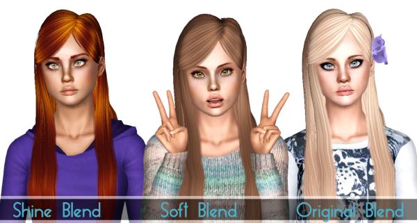 Yume Zauma Seohyun hairstyle retextured by Sjoko for Sims 3