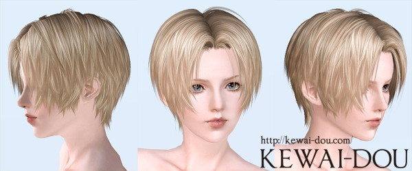 Tumblr2000 angled bob hairstyle by Mia for Sims 3
