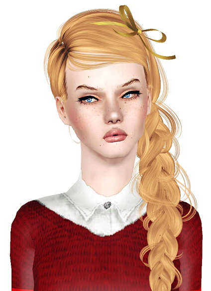 NewSea`s Bluebird hairstyle retextured by Jas  for Sims 3
