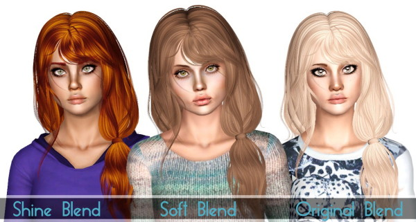 Newsea`s Rennie hairstyle retexture by Sjoko for Sims 3