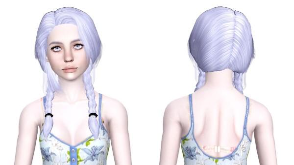 Helga 89 hairstyle retextured by Sjoko for Sims 3
