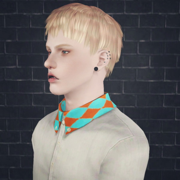 Atom hairstyle by 2sanghaec for Sims 3