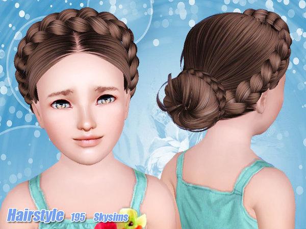 Alfa img - Showing > Braided Hair Sims 4