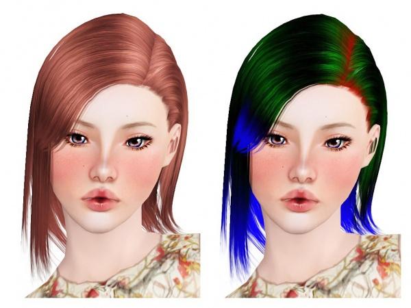 Zauma`s Taeyeon + Chopped hairstyle retextured by Neiuro for Sims 3