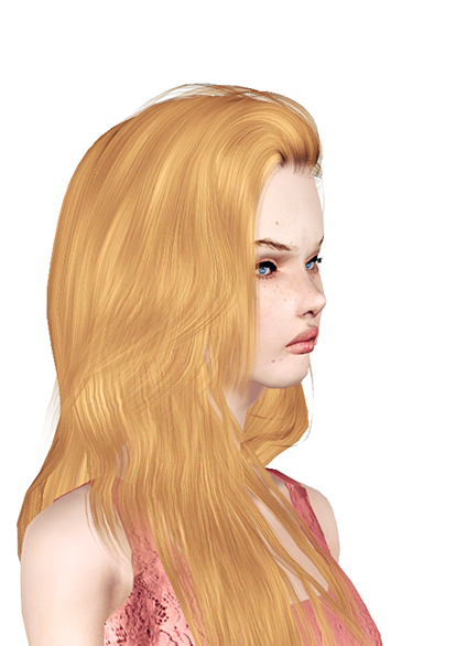 Long straight hairstyle Raonjena 36 retextured by Jas for Sims 3