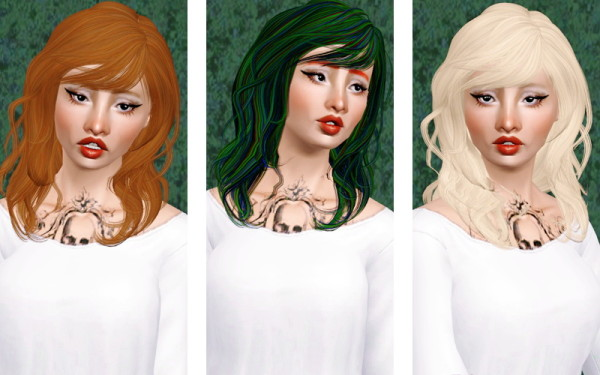 Newsea's Chihuahua hairstyle retextured by Beaverhausen for Sims 3
