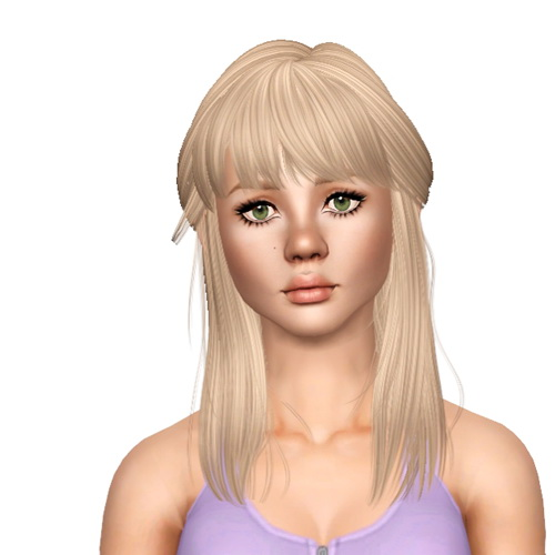 Newsea`s Voyager hairstyle retextured by Sjoko for Sims 3