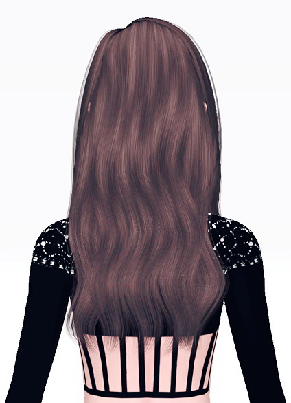 Alesso`s Urban slightly curled tips hairstyle retextured by Jas for Sims 3