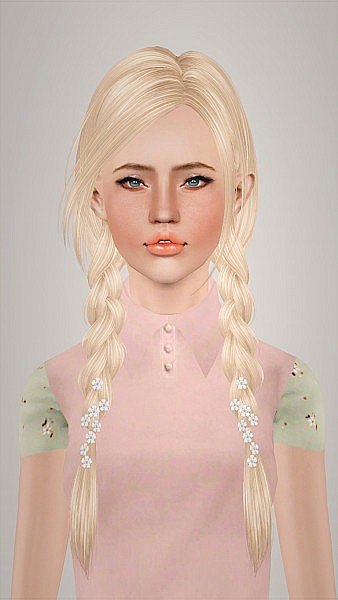 Skysims 163  hairstyle retextured by Imamii for Sims 3