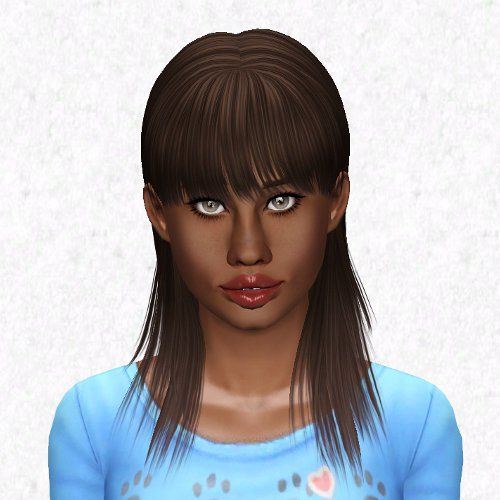 Picky Pikachu's Bang up Job hairstyle retextured by Sjoko for Sims 3