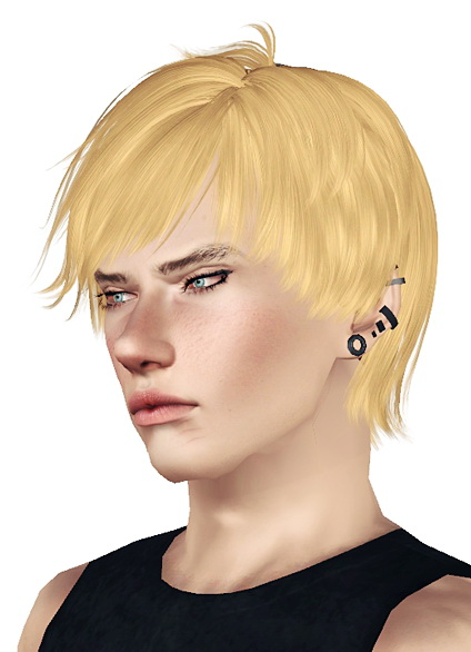 Fringed ultimate hairstyle Skysims 108 retextured by Jas for Sims 3
