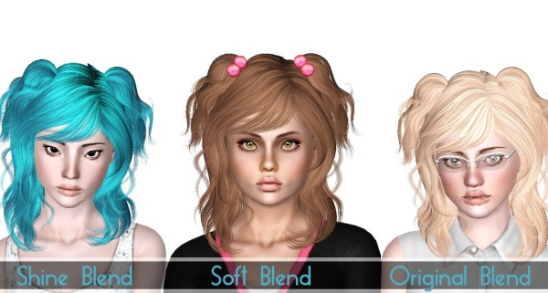 NewSea`s Chihuahua hairstyle retextured by Sjoko for Sims 3