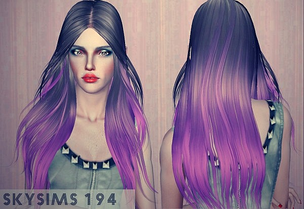 Alesso Dreams, Skysims 194, Elexis QourraTronLegacy hairstyle retextured by WhiteCrow for Sims 3