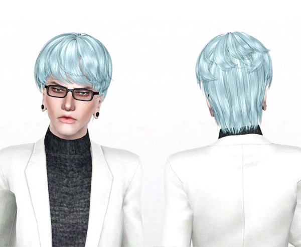 Stunner hairstyle Newswea`s Stanley retextured by Jas for Sims 3