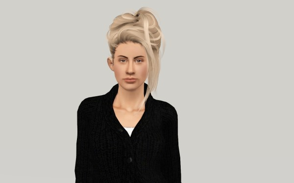 Newseas Crazy Love hairstyle retextured by FANASKHER for Sims 3
