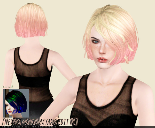 Six hairstyle retextured by Duo for Sims 3