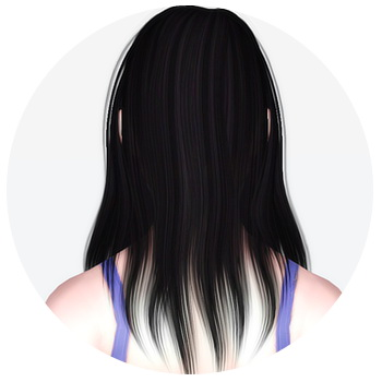 Alesso`s Ana hairstyle retextured by Kiera for Sims 3