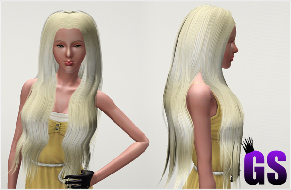 Classic Long Hairstyle by David Sims  for Sims 3