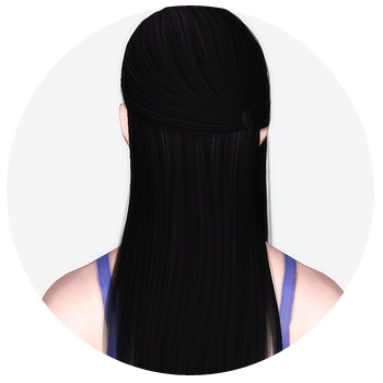 Cazy`s 131 hairstyle retextured by Kiera for Sims 3