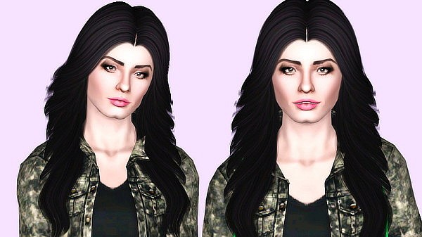 Nightcrawler`s hairstyle 18 retextured by Kiera for Sims 3