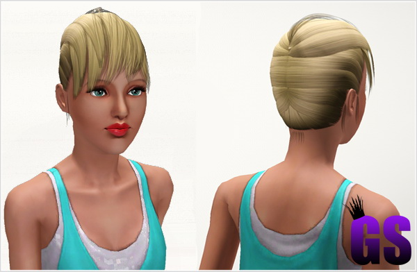 Marry the Night Hairstyle by David  for Sims 3