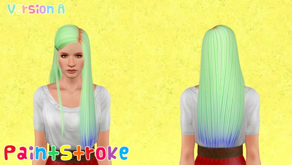 Nightcrawler 03 hairstyle retextured by Katty for Sims 3