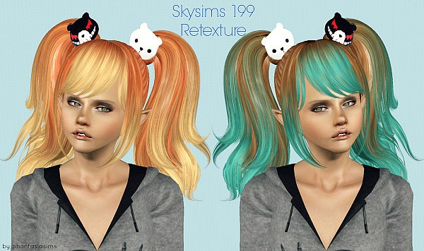 Skysims 199 hairstyle retextured by Jassi for Sims 3