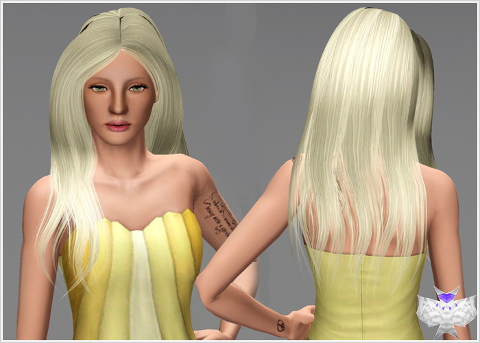 Sants Hairstyle by David  for Sims 3