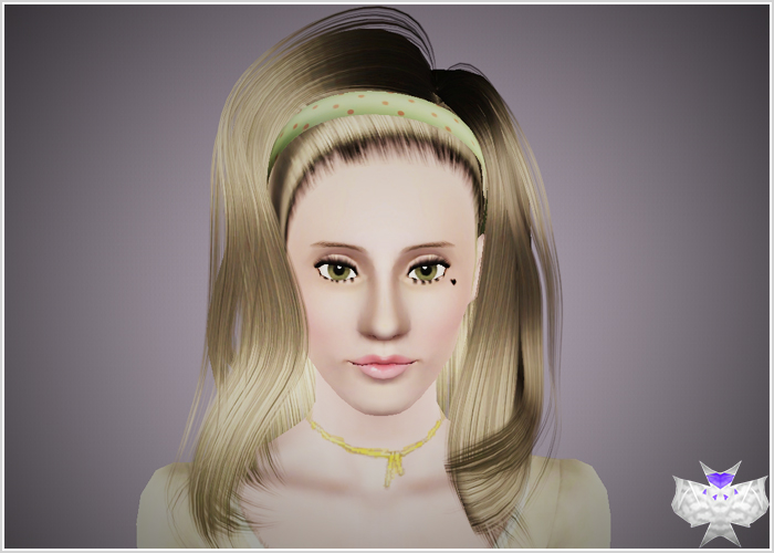 Electra Hairstyle by david  for Sims 3
