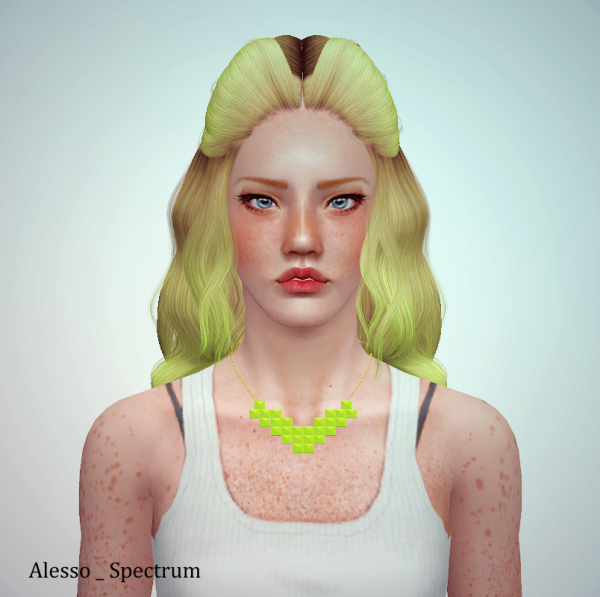 3 Alesso`s hairstyles and Nightcrawler 19 retextured by June for Sims 3