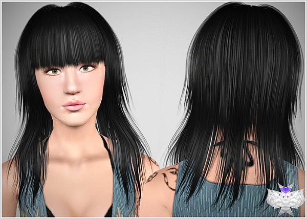 Smiley hairstyle by David for Sims 3