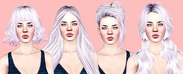 Hairstyle retextured by Simply Kitsch for Sims 3